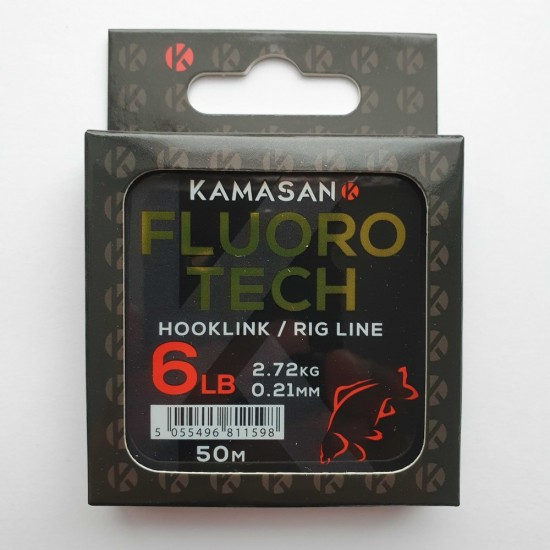 Kamasan Fluoro Tech 50m Флуорокарбон