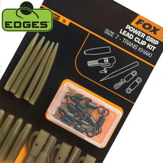Fox Edges Lead Clip Kit Комплект Клипсове