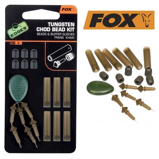 Fox Edges Tungsten Chod Bead Kit Готов Шаранджийски Монтаж