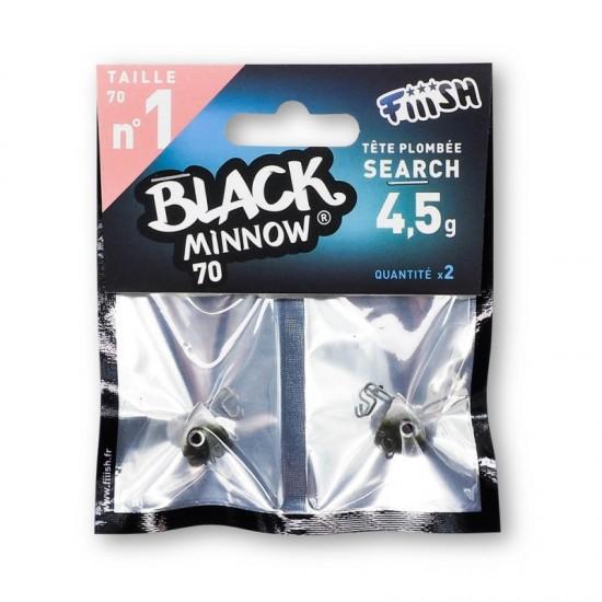 Fiiish Black Minnow No1 Jig Head 4.5 g Search