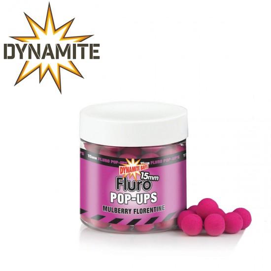 Dynamite Baits Mulberry Florentine Fluro Pop-Ups Плуващи топчета