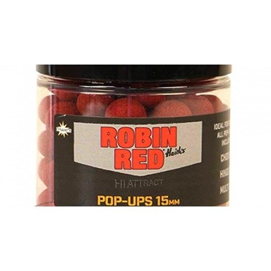 Dynamite Baits Robin Red Foodbait Pop Up 15mm