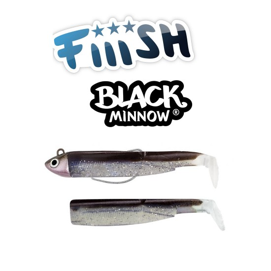 Fiiish Black Minnow No2 Combo - 9 cm, 8g