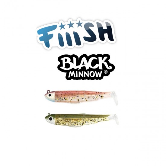 Fiiish Black Minnow No1 Double Combo - 7 cm, 4.5g