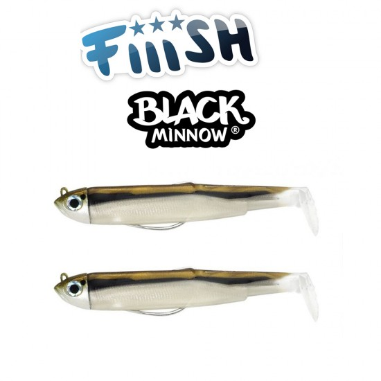 Fiiish Black Minnow No2 Double Combo - 9 cm, 5g Силиконова Примамка