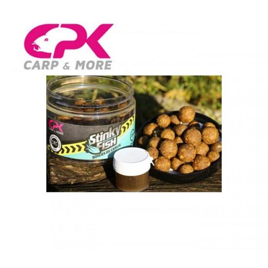 Протеинови топчета с дип CPK Boilies Stinky Fish 14-16-20mm