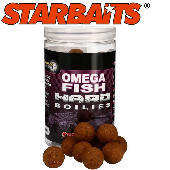 StarBaits Omega Fish Hard Boilies Протеинови Топчета